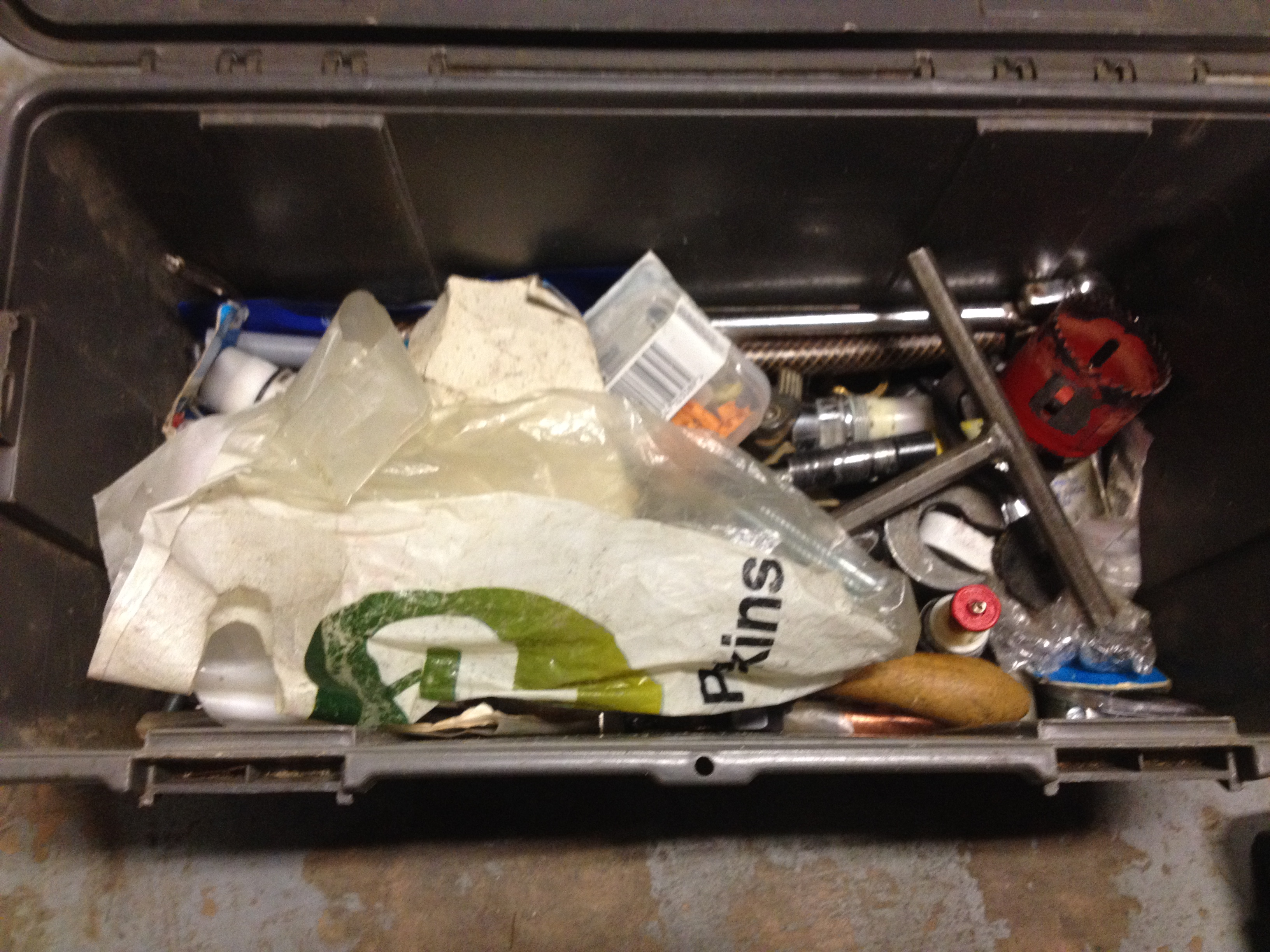 1 x Tool box with various tools and accessories inc Screwdrivers & Drill Bits - Image 3 of 3