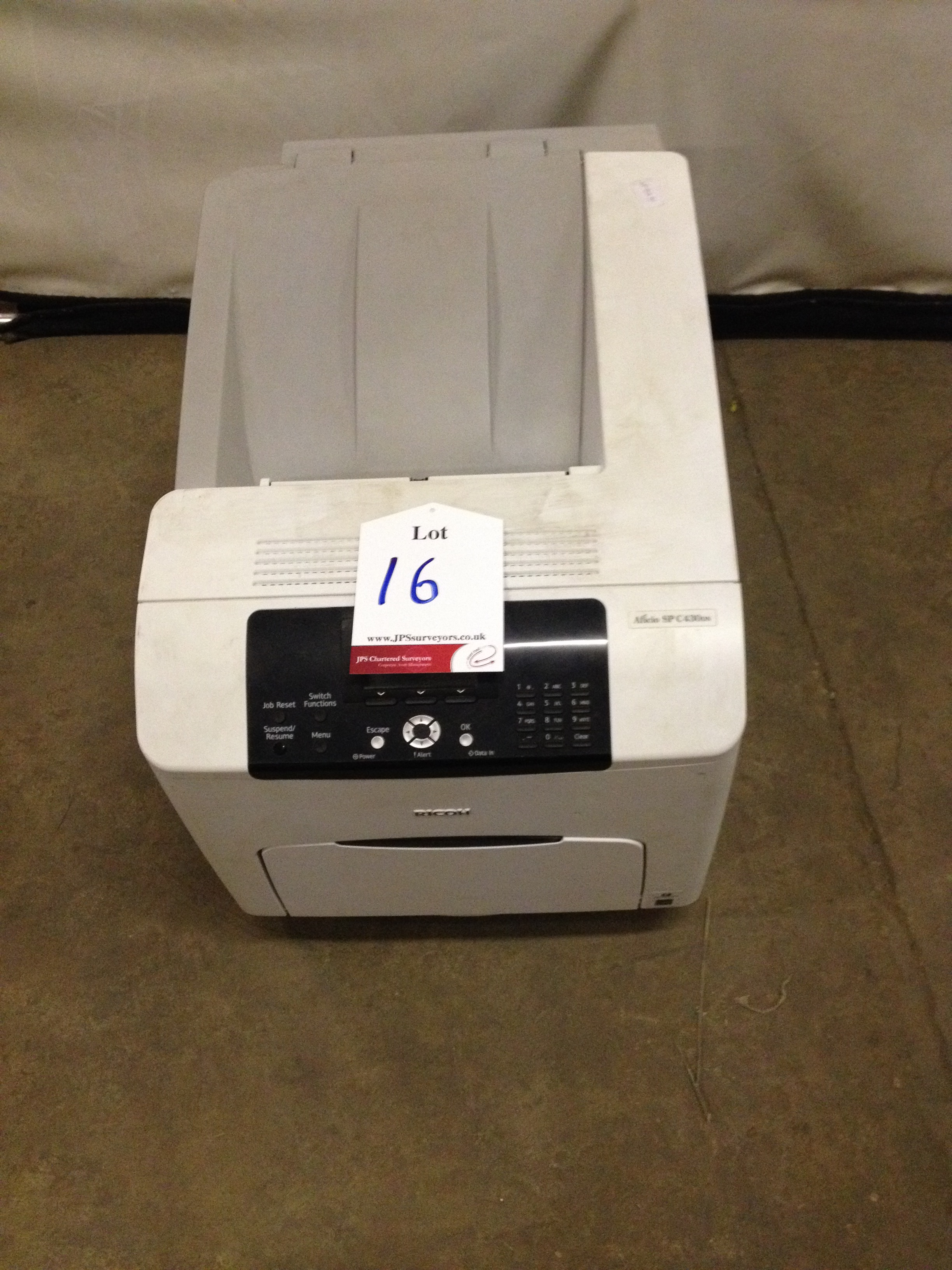 Ricoh Printer - Aficio SP C430DN (White)