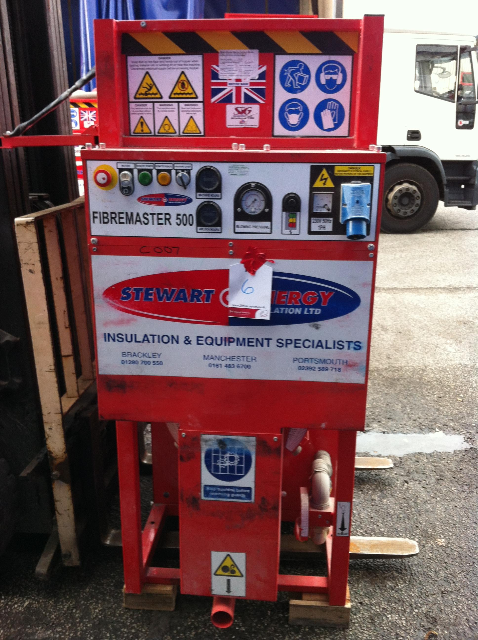 Stuart Energy Cavity Wall Insulation Machine - FibreMaster 500