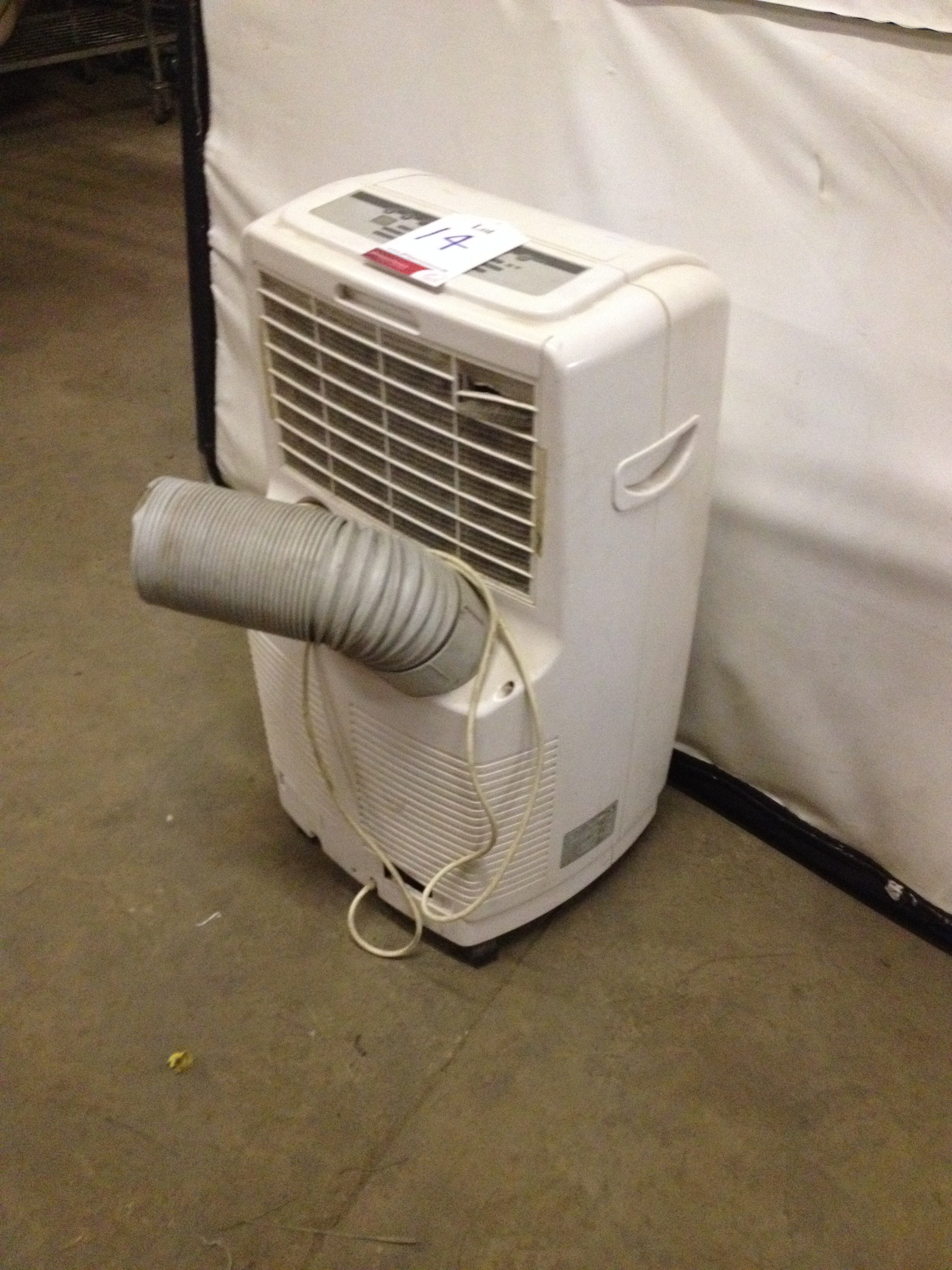 White Air Conditioner - Image 2 of 5