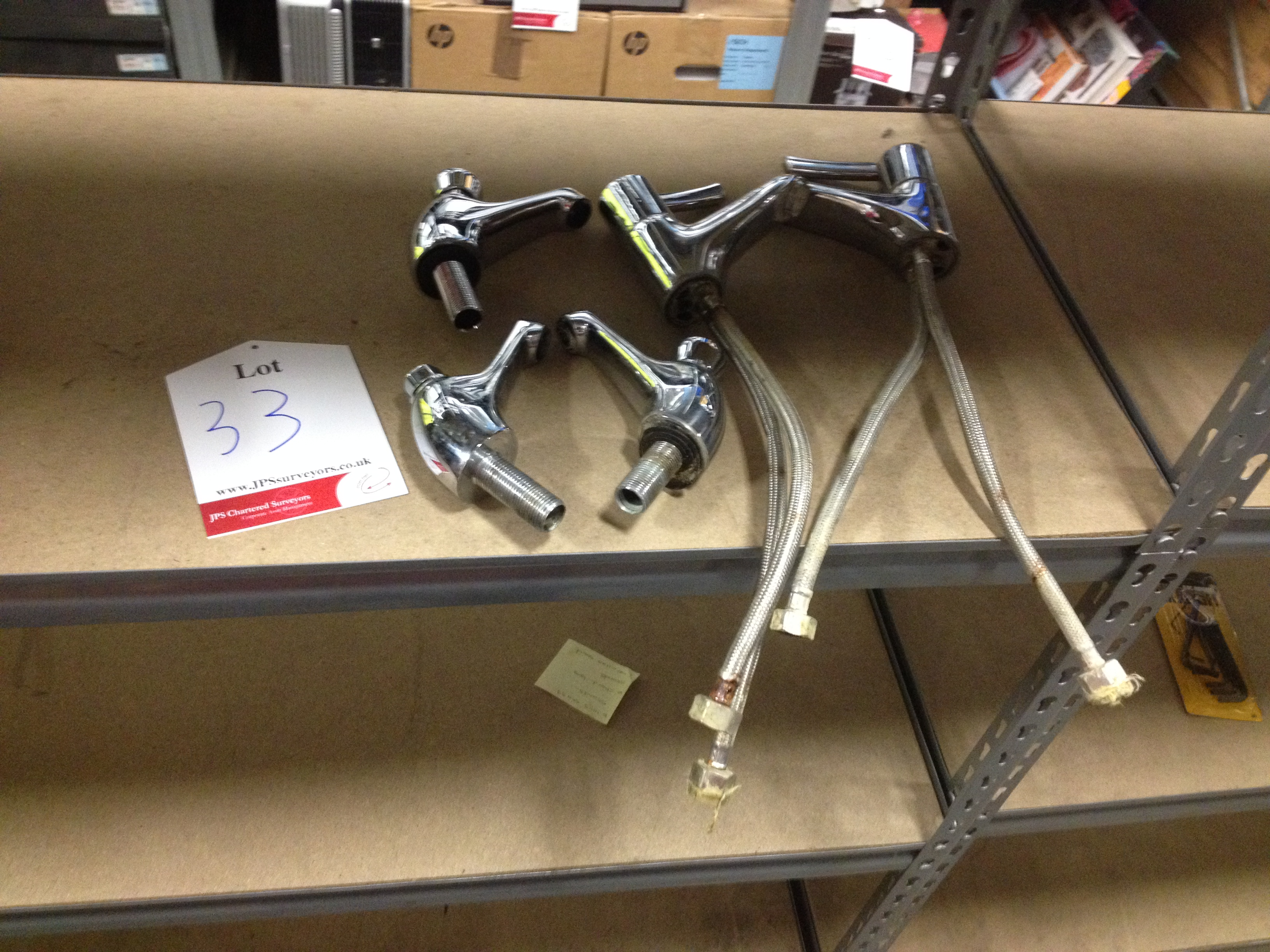 Mixed lot of Various Sink Taps - SEE PICTURES FOR FULL CONTENTS