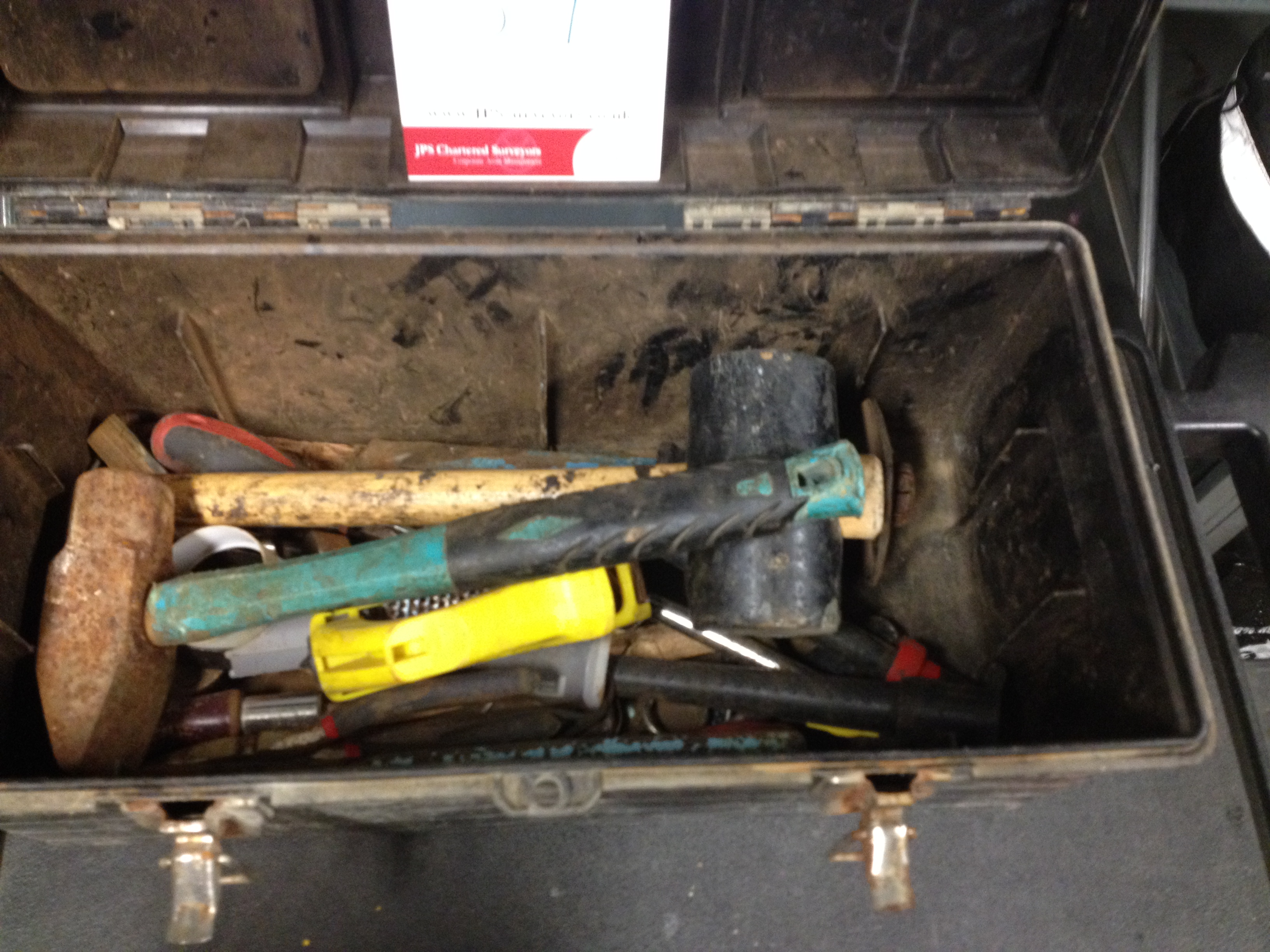 3 x Tool Boxes with Various tools and accessories - SEE PICTURE FOR FULL CONTENTS