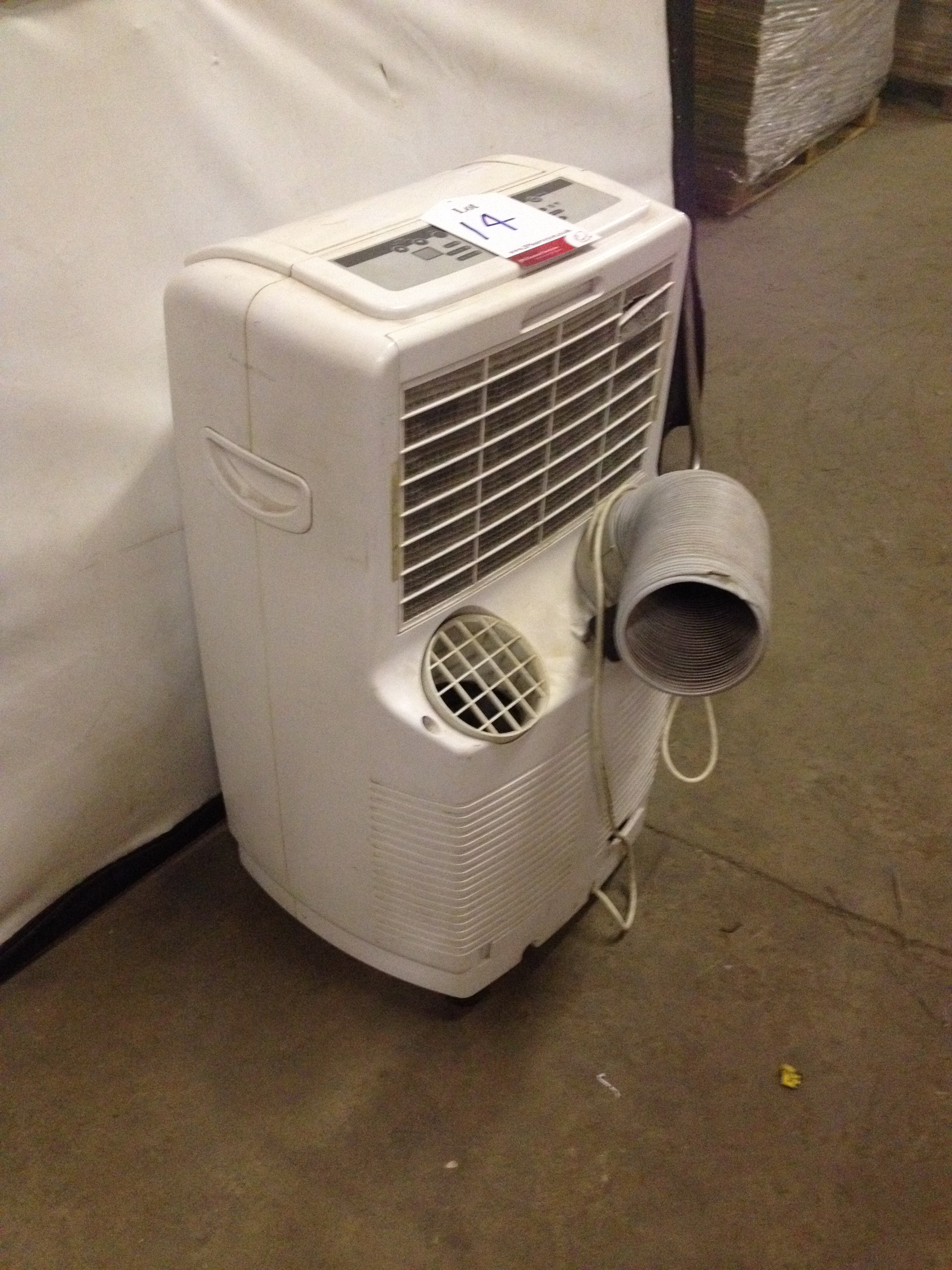 White Air Conditioner - Image 3 of 5