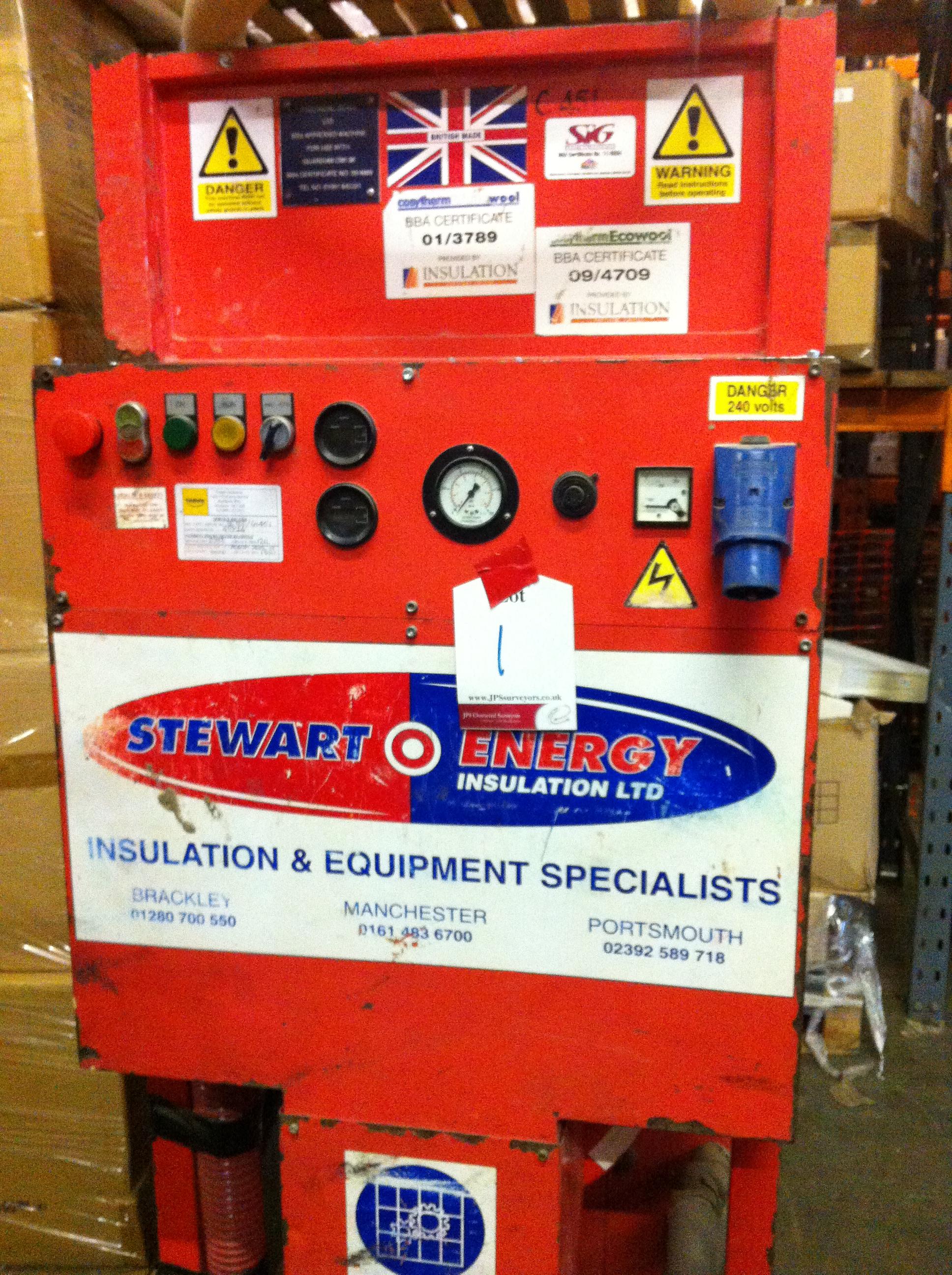 Stuart Energy Cavity Wall Insulation Machine SE500/CH451
