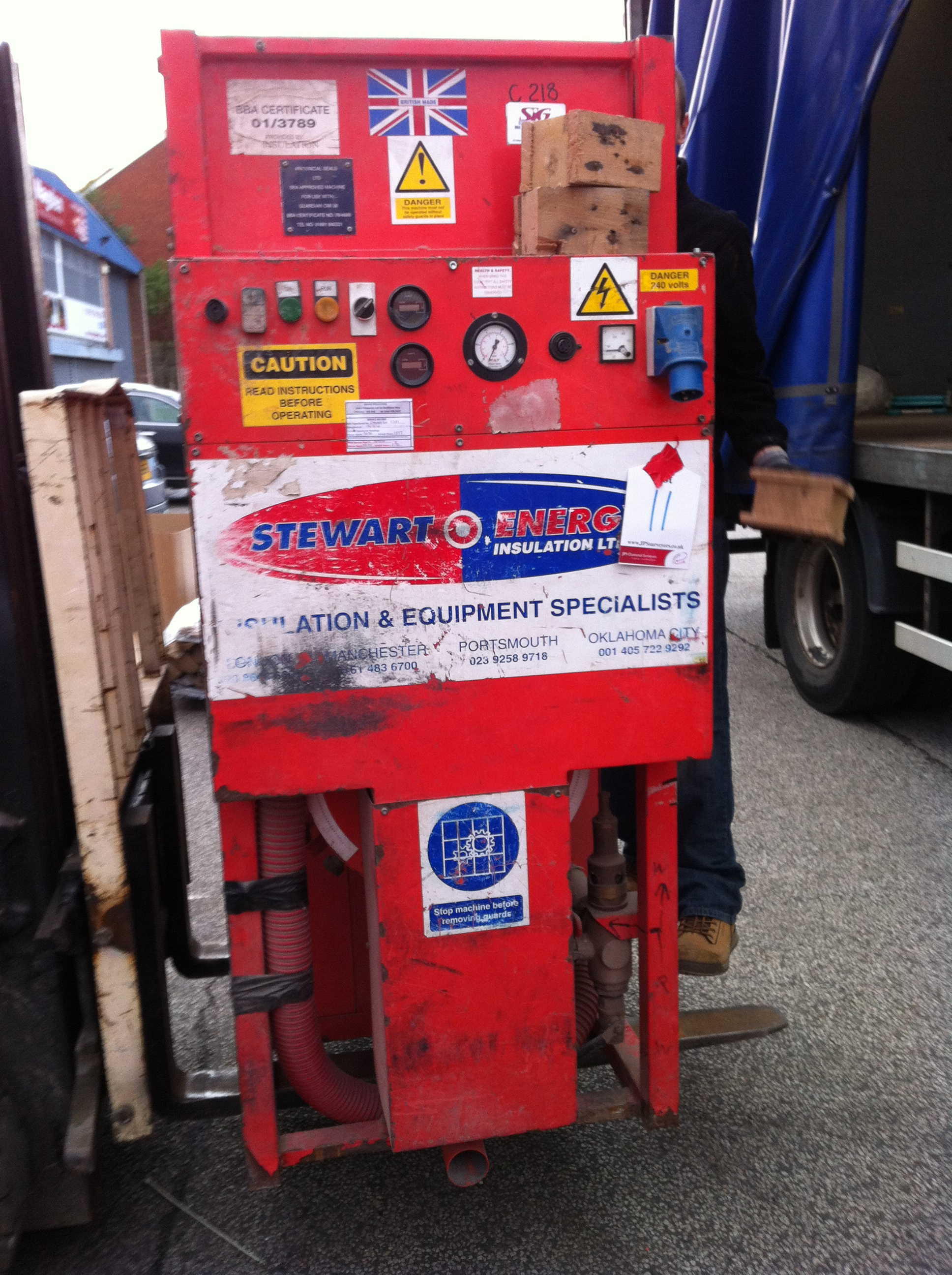 Stuart Energy Cavity Wall Insulation Machine - SE500/C218