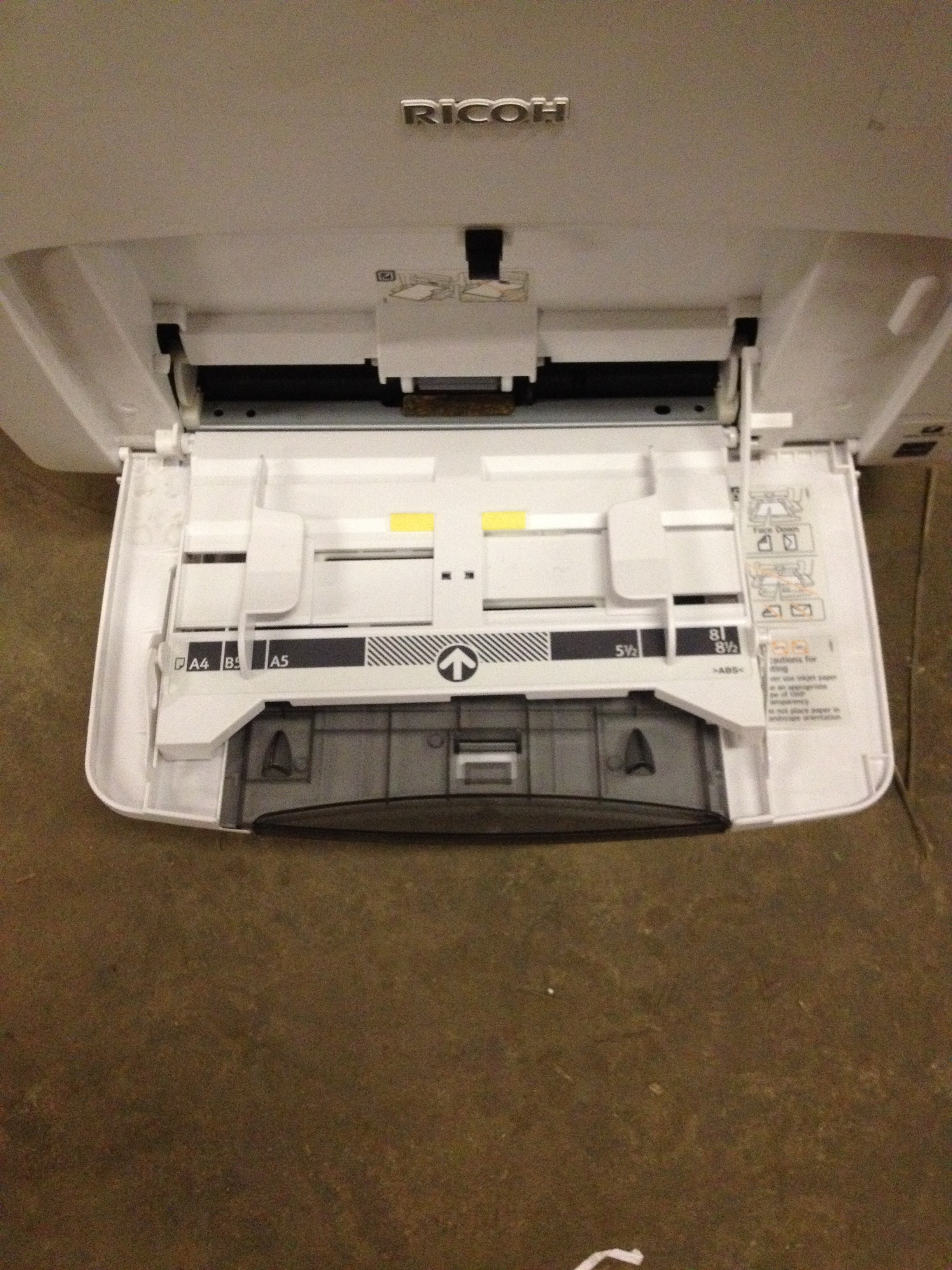 Ricoh Printer - Aficio SP C430DN (White) - Image 4 of 7