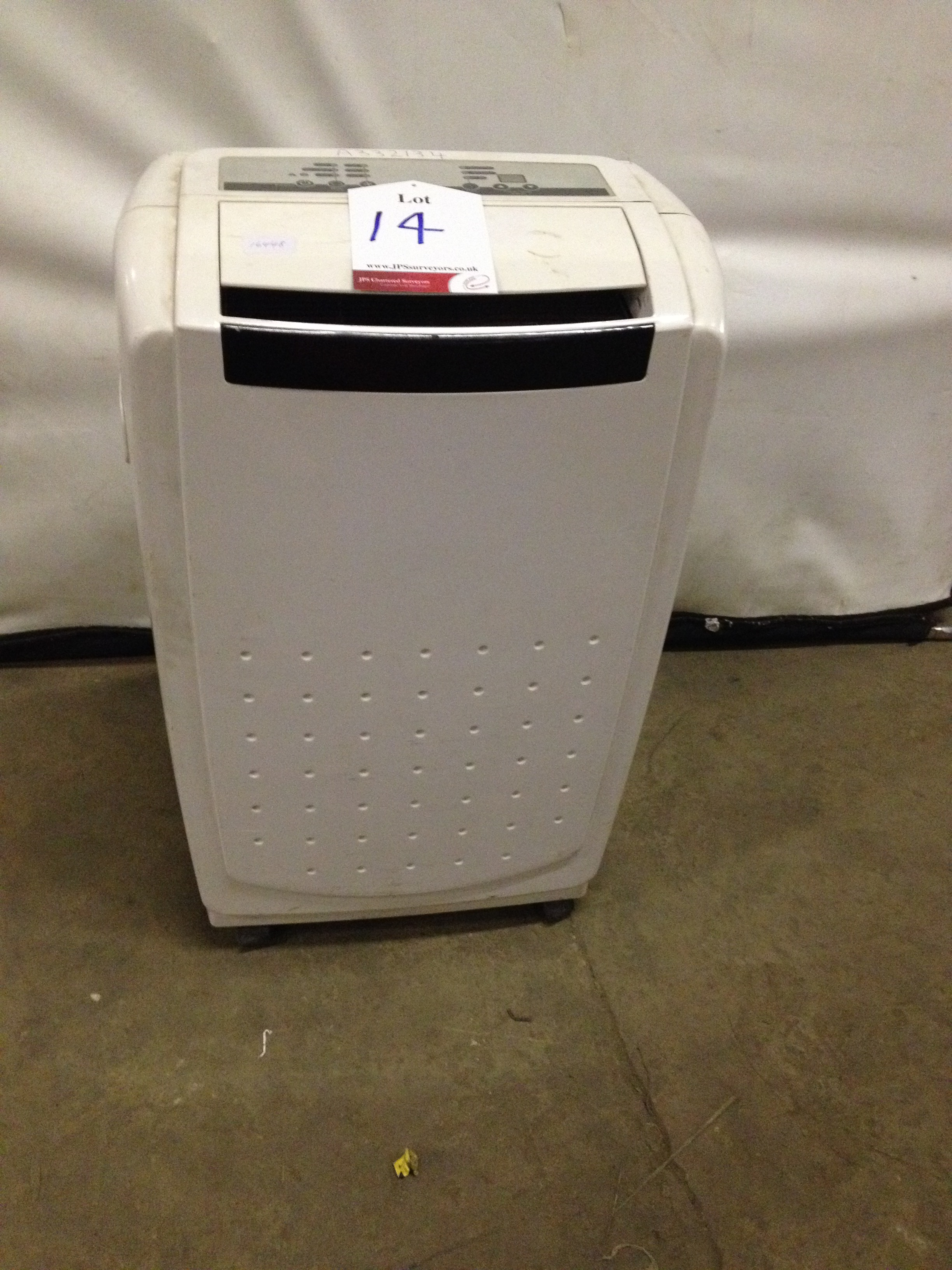 White Air Conditioner - Image 4 of 5