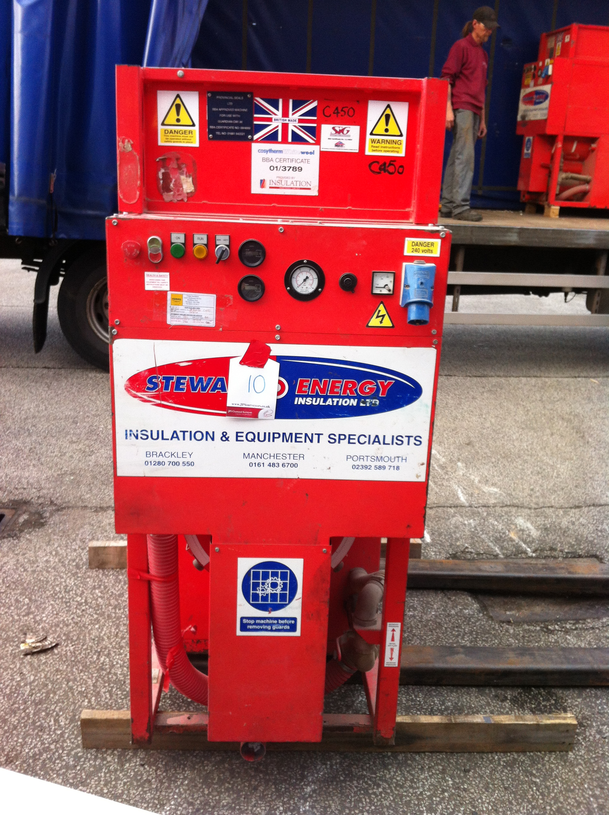 Stuart Energy Cavity Wall Insulation Machine - SE500/C450