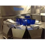 Yamato data weigh model ADW343RWP multi head weigher, weight range 20g - 3000g complete with