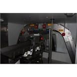 Stainless steel framed swan neck conveyor with flighted slatted belt conveyor 6m x 360mm