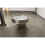 Stainless steel lazy Susan 1200mm