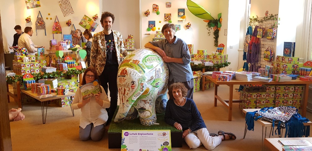 Suffolk Elephantasia by Glynn Thomas RE. Sponsored by Gotelee Solicitors. - Image 4 of 5