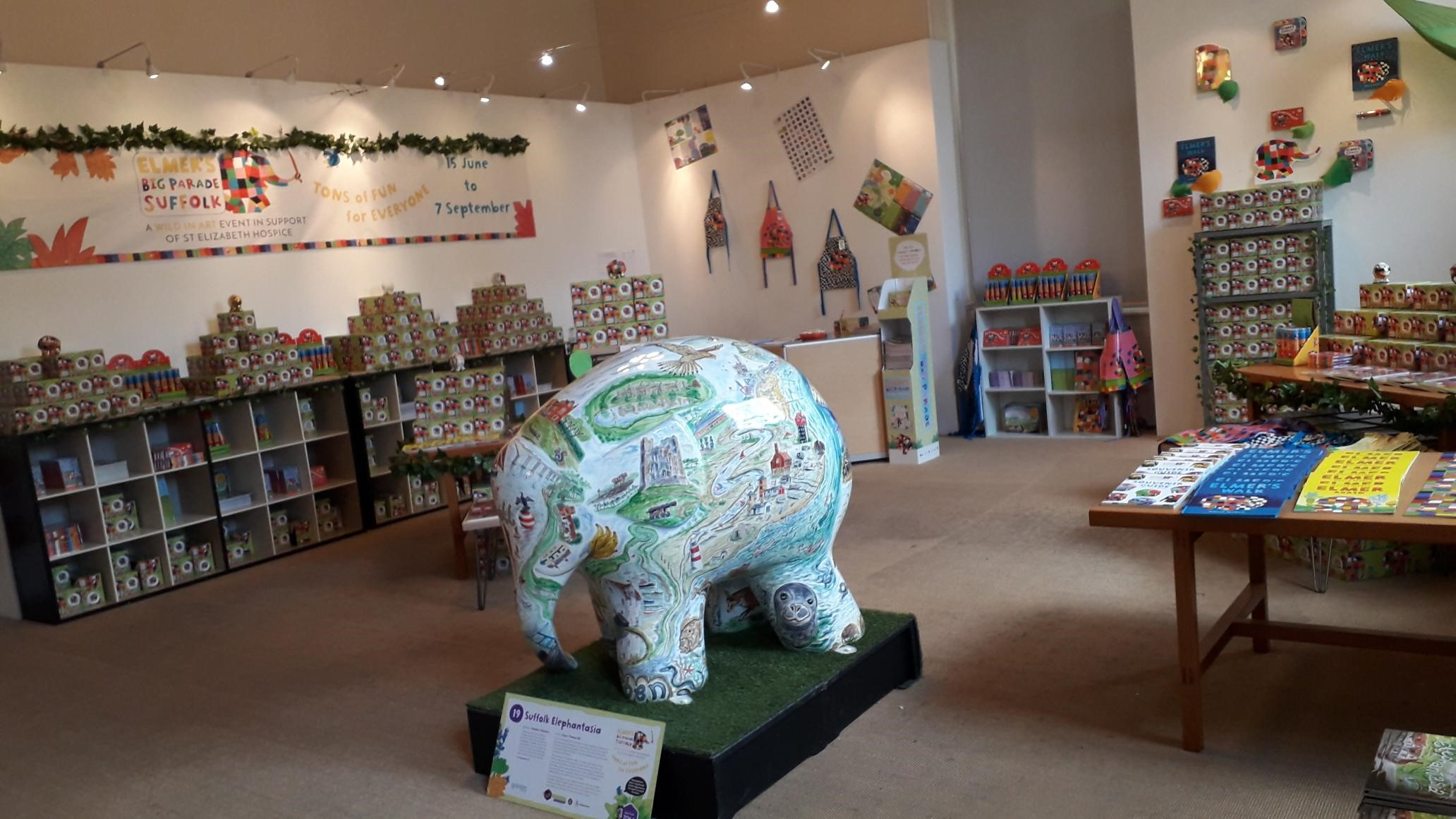 Suffolk Elephantasia by Glynn Thomas RE. Sponsored by Gotelee Solicitors. - Image 3 of 5