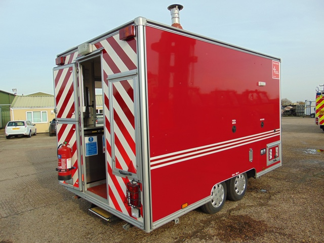 Ex Fire Service 12ft Towability Catering Trailer - Image 6 of 41