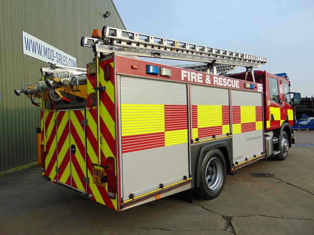 Lot 8 - Scania 94D 260 / Emergency One Fire Engine ONLY 60,588km!