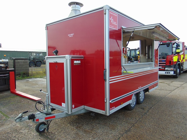Ex Fire Service 12ft Towability Catering Trailer - Image 2 of 41