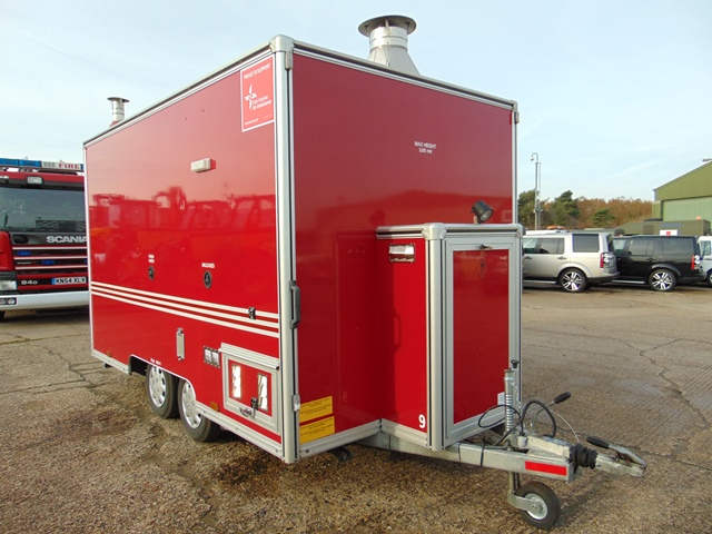 Ex Fire Service 12ft Towability Catering Trailer - Image 8 of 41