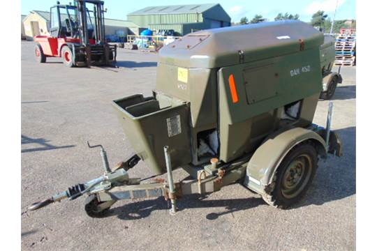 Lot 14 - Royal Air Force Trailer Mounted 25 KVA Generator