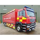 2004 MAN TG-A 6x2 Rear Steer Incident Support Unit ONLY 33,543km!