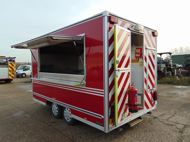 Ex Fire Service 12ft Towability Catering Trailer - Image 4 of 41