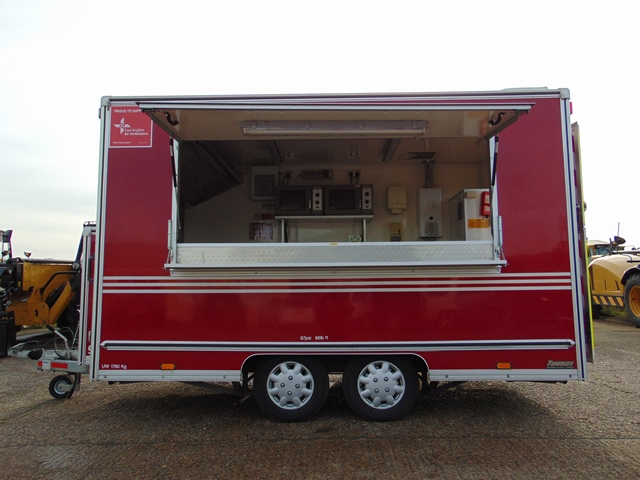 Ex Fire Service 12ft Towability Catering Trailer - Image 3 of 41