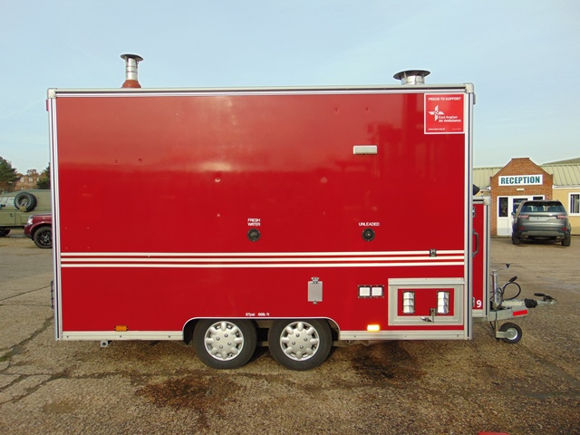 Ex Fire Service 12ft Towability Catering Trailer - Image 7 of 41
