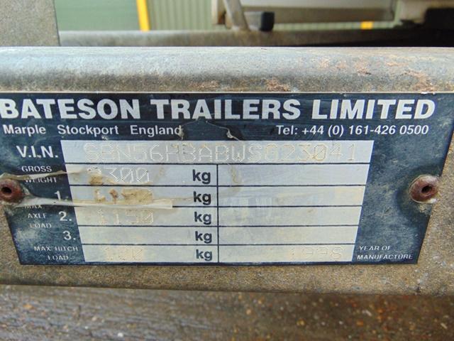 Lot 2 - Bateson Ascot Twin Axle 2 Horse Trailer