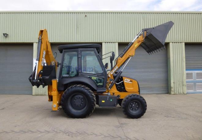Lot 32 - UNUSED Case 770 EX Magnum Backhoe Excavator
