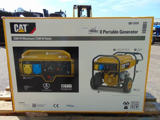 Lot 24 - UNISSUED Caterpillar RP2500 Industrial Petrol Generator Set
