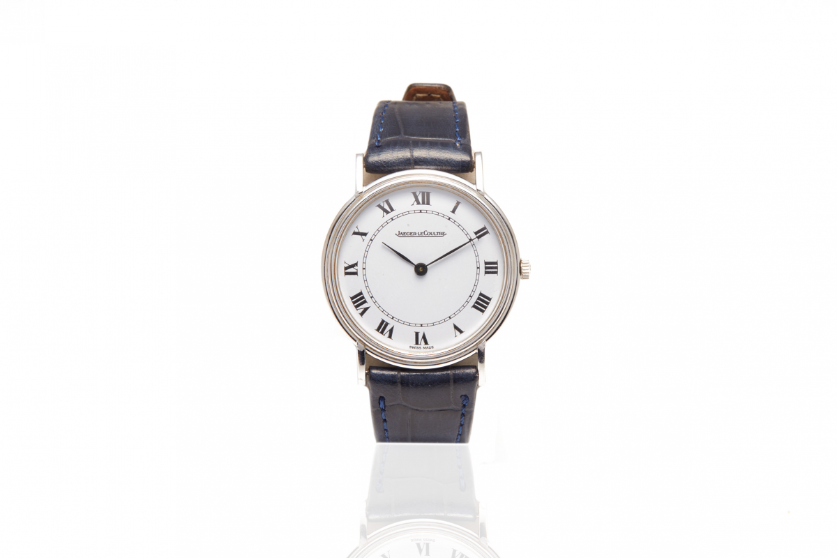 JAEGER-LECOULTRE - A SWISS MANUAL WATCH