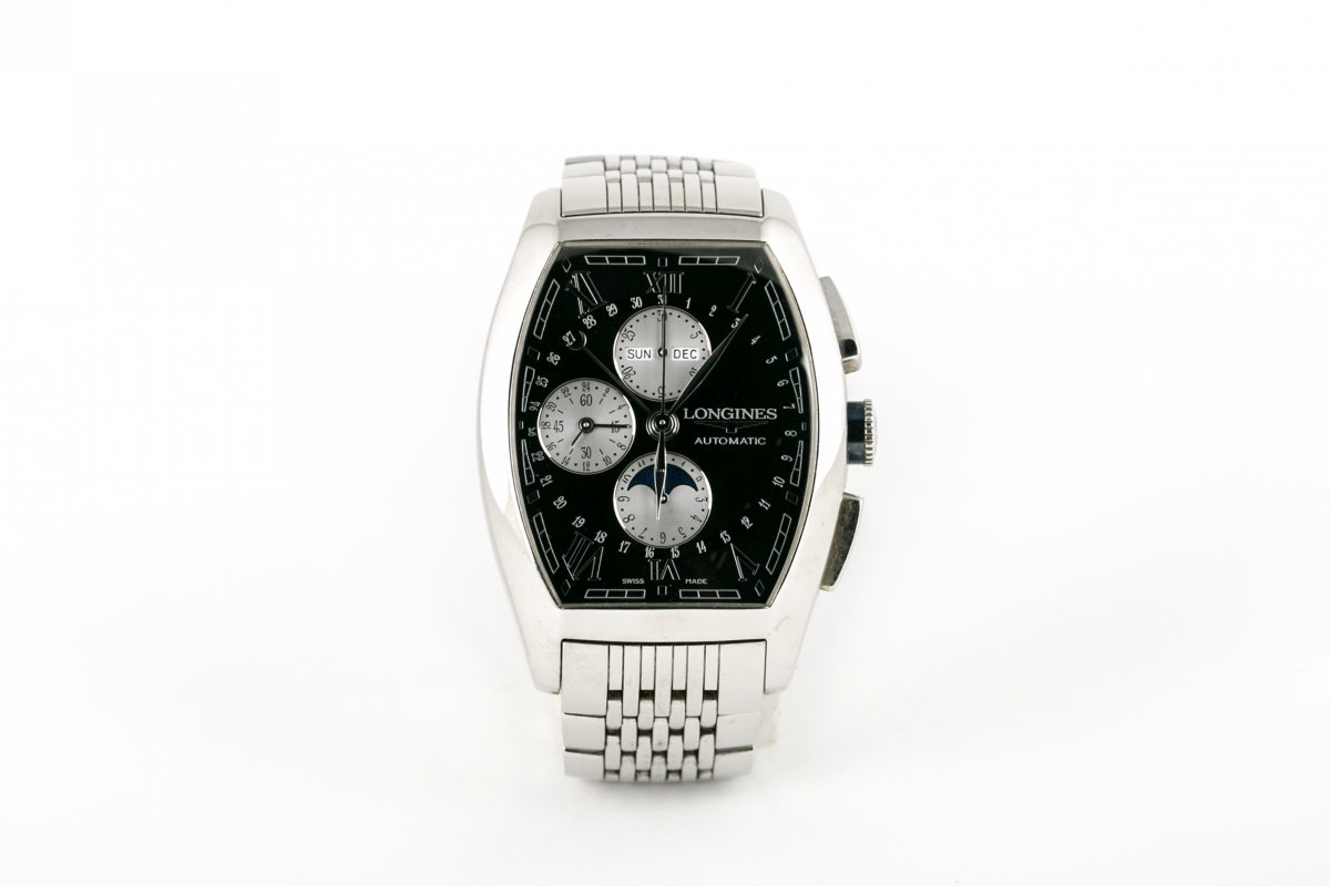 Lot 13 - LONGINES - AN 'EVIDENZA' WATCH