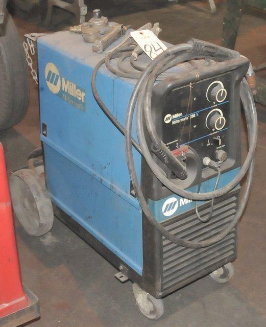 Miller Millermatic 250; 200-Amp Capacity Wire Feed Mig Welder, S/n ...