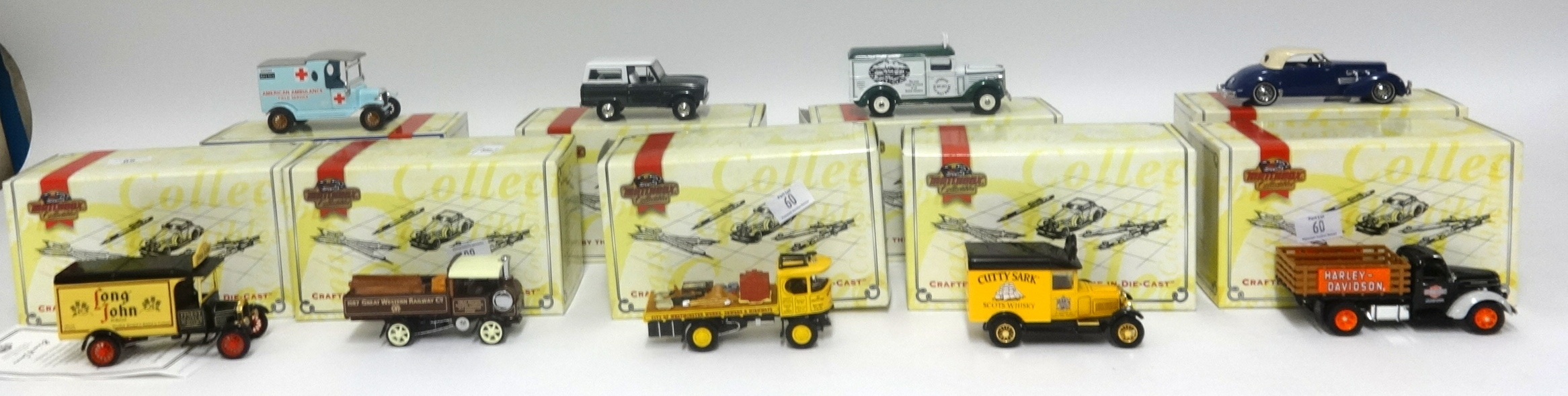 Lot 060 - Large collection of Matchbox diecast models to include advertising vans, steam rollers and other