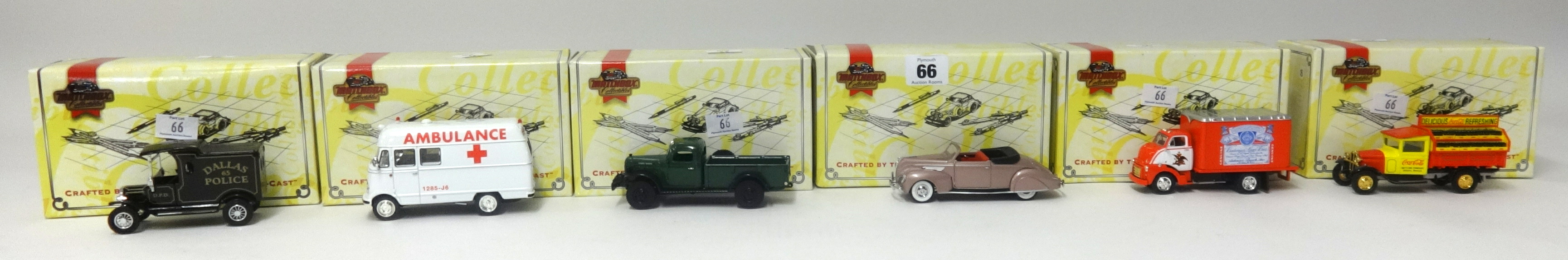 Lot 066 - A collection of Matchbox Collectables, boxed as new, Approx 30.