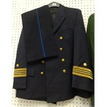 Lot 040 - Collection of uniforms including full German Police uniform, Austrian Officer jacket, pair of