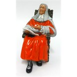 Lot 011 - Royal Doulton, figure 'The Judge', HN 2443.