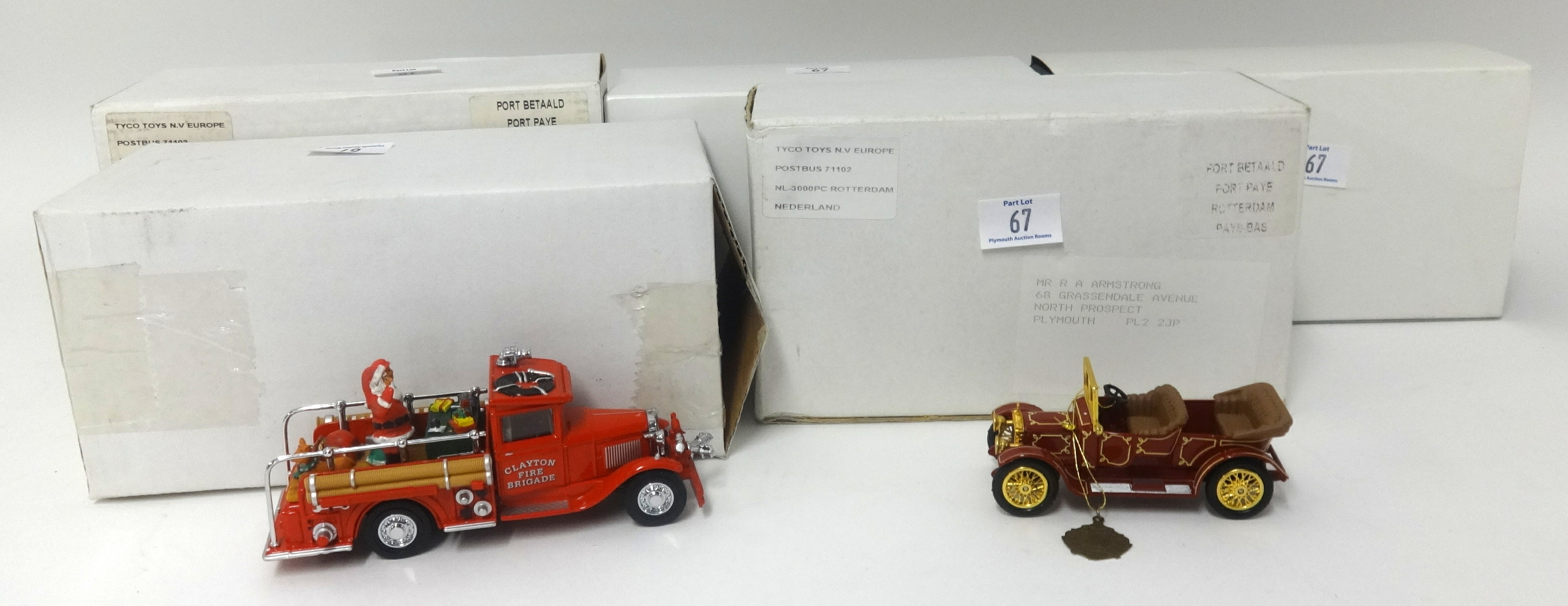 Lot 067 - A collection of Matchbox Models of Yesteryear models including the 40th anniversary of a 1911
