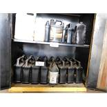 LOT OF DIESEL ENGINE OIL JUGS