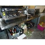 *S/S prep bench with under shelf 2000w x 650d x 950h