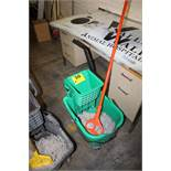TOUGH GUY PORTABLE WASH BUCKET WITH MOP AND STRAINER