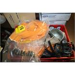 LARGE QUANTITY OF CLOTH GLOVES AND STEEL TOE SHIELDS