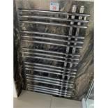 Chrome towel rail, 48w x 87h