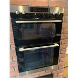 AEG Competence D2100-4 Built in Electric Fanned double oven