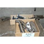 Lot-Hammers in (1) Box; Chisels in (1) Box and Pry Bars