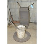 Steel Banding Cart with Clips and Banding