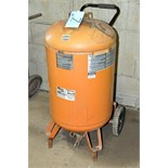 SEARS MODEL 919.167312; 30-Gallon x 150-PSI Capacity Portable Receiving Tank; S/n 2316174453
