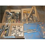 Lot-Assorted Hand Tools in (4) Boxes