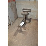 Lot-(3) Steel Feed Stands