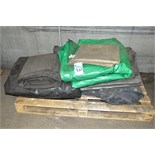 Lot-Assorted Tarps on (1) Pallet