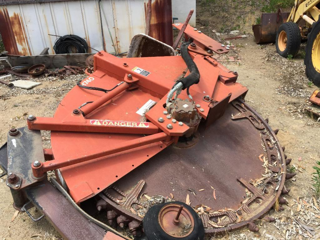 Lot 102a - Trencher Plow Earth Saw. Model H740�SN�2R2629. Mfg. by the Charles Machine Works.�(formerly Ditch Wi